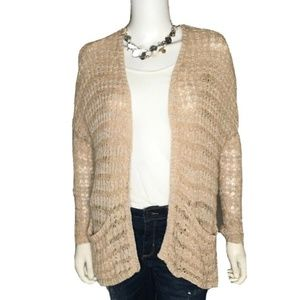 Free People Women's Oversize Open Front Cardigan